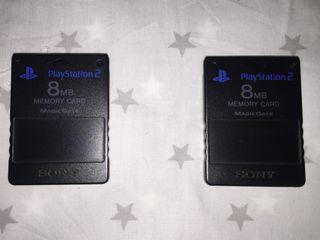 Tarjetas de memoria Sony Playstation 2