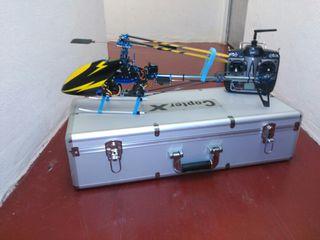 Helicóptero radio control eléctrico