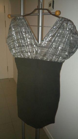 Vestido negro fiesta/cocktail