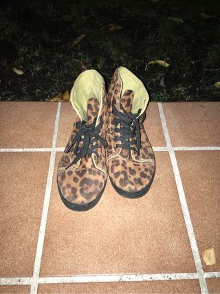 Zapatillas leopardo