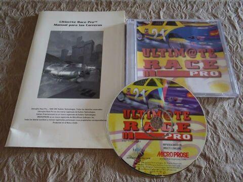 Ultimate Race Pro - PC Windows 95 CD