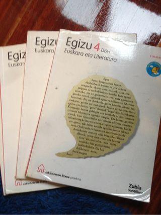 Egizu 4 Euskara eta literatura. 4 DBH