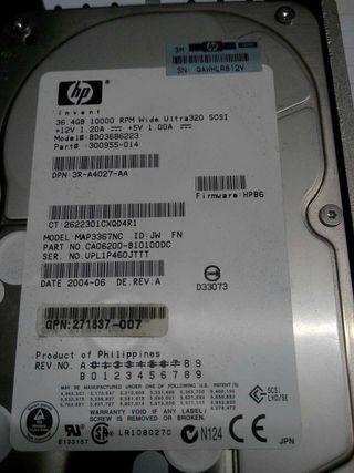 Discos SCSI 36.4Gb