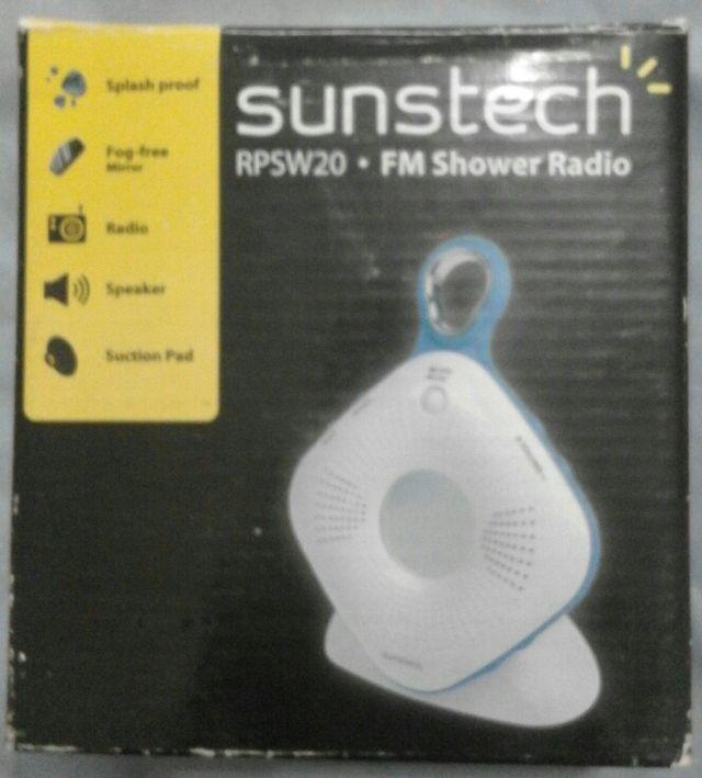 Radio de ducha antisalpicaduras