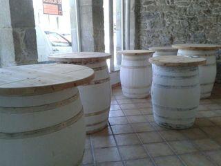 6 barriles