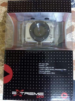 Video-Camara deportiva EXTREME PRO, sumergible (20