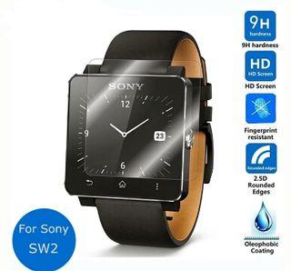 Cristal templado para smart watch Sony 2