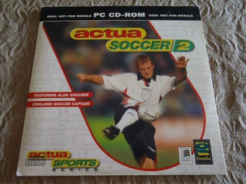 Actua Soccer 2 - PC Windows 95 CD