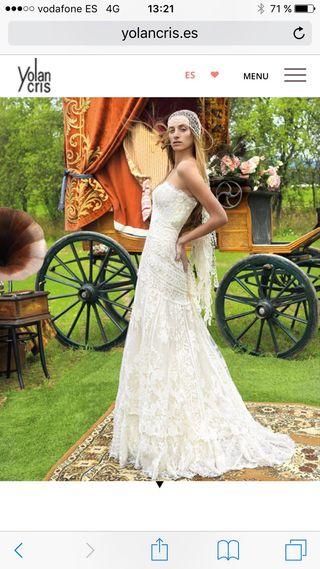 Precio vestido novia yolan cris