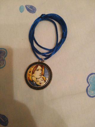 Medallon Virgen oferton