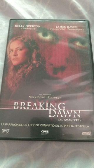 DVD BREAKING DAWN TERROR PELÍCULA
