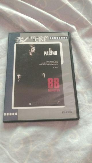 DVD 88 MINUTOS AL PACINO