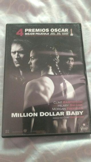 DVD MILLION DOLLAR BABY, CLINT EASTWOOD BOXEO