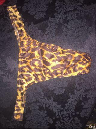 Tanga leopardo para chico