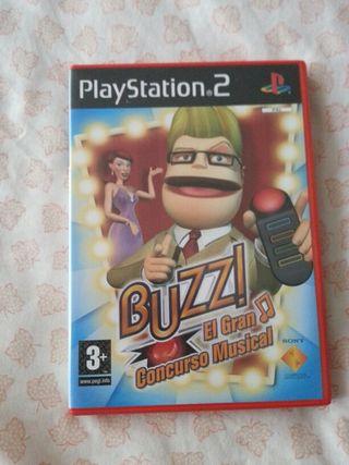 Buzz PS2 + Mandos buzzer