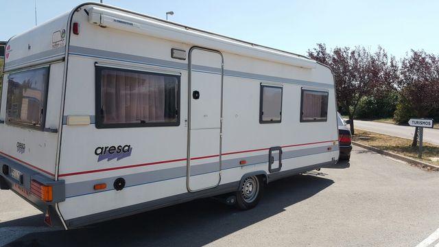 Caravana burstner aresa 490 con mover a