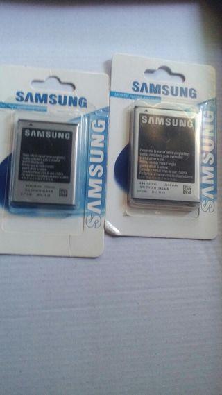 Baterias samsung. Nuevas
