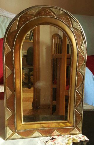 espejo de laton