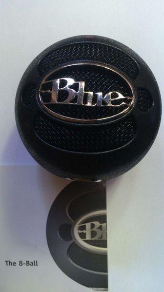 Microfono 8 ball XLR de la marca Blue