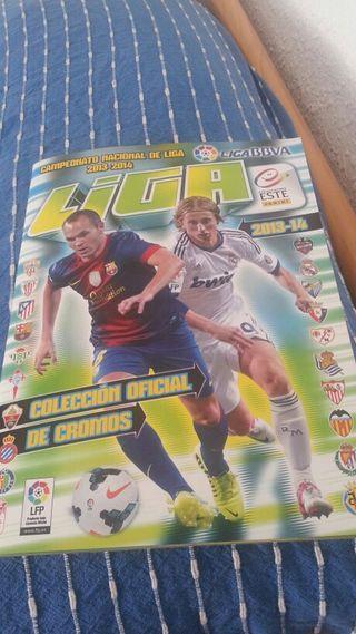 Album nuevo liga 2013/14