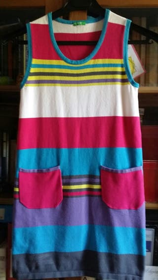 Vestido colores benetton