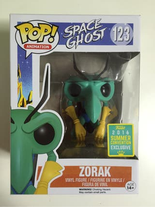 FUNKO POP ANIMATION 123 SPACE GHOST ZORAK