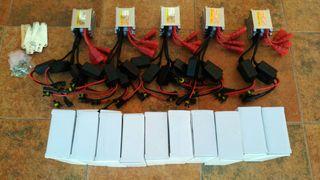 Kits Xenon 35 y 55W. H7, H4, H1