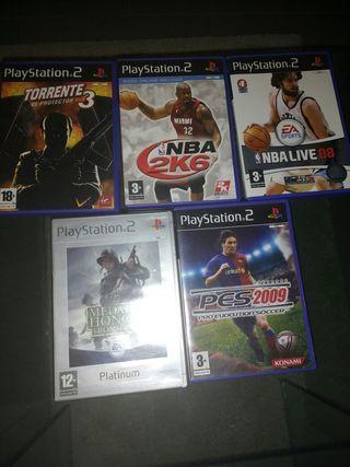 Juegos play station 2