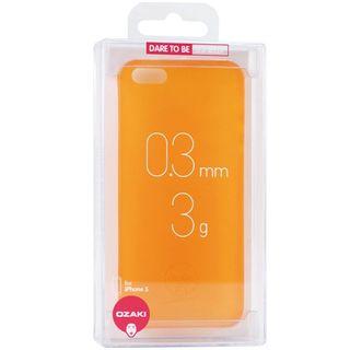 Ozaki Jelly - Carcasa para Apple iPhone 5, Naranja