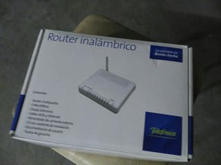Router inalambrico con wifi