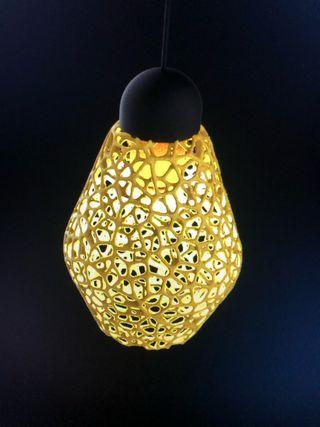 Lámparas Impresas en 3d