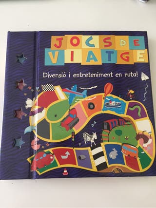 Libro juegos de viaje en catalán