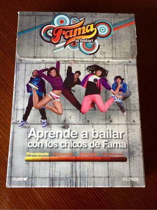 "Lote 12 DVD para aprender a Bailar ""FAMA"""