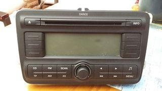 Radio cd skoda fabia