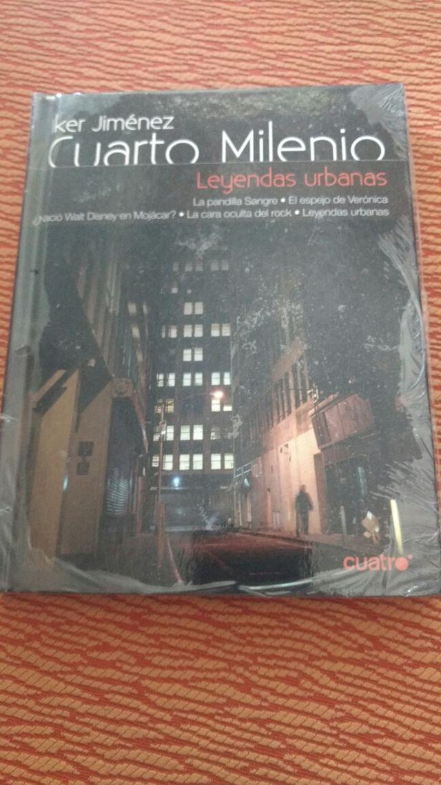 DVD CUARTO MILENIO LEYENDAS URBANAS IKER JIMÉNEZ de segunda mano por ...