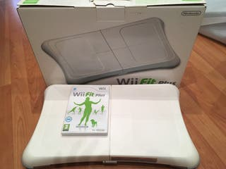 Tabla ejercicios Wii Fit Plus + juego Wii Fit