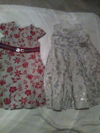 2 vestidos de fiesta talla 4