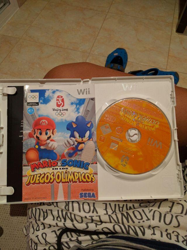 Mario y Sonic en los juegos Olímpicos juego wii