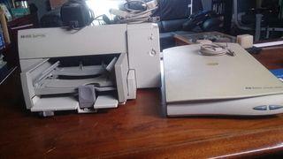 Impresora HP Deskjet 690C y ScanJet 3300C