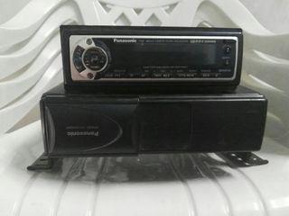 Radio casete y cargador de cd
