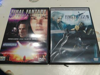 Final fantasy dvd pack
