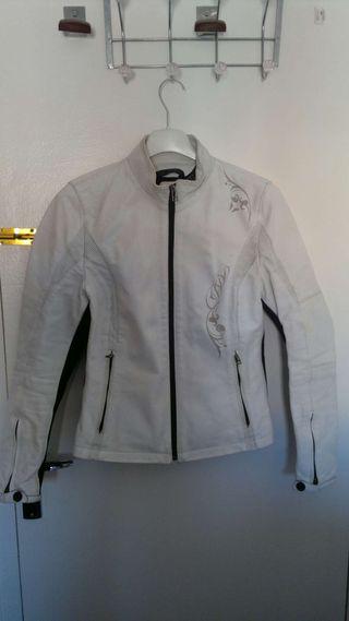 Dainese 44 chaqueta piel moto mujer/chica