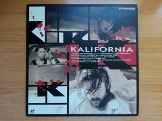 Kalifornia - LaserDisc
