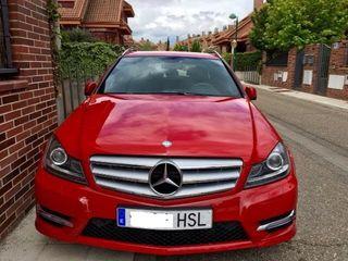 Mercedes rojo impecable. C 250 estate CDI BE sport 4M 7G plus