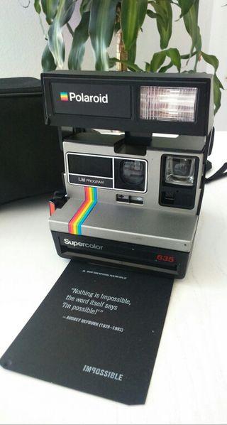 Polaroid 635 la cámara más molona de los 80