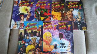 Pack mangas Street Fighter II
