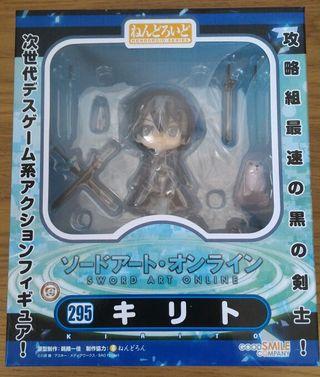 Nendoroid Kirito de Sword Art Online