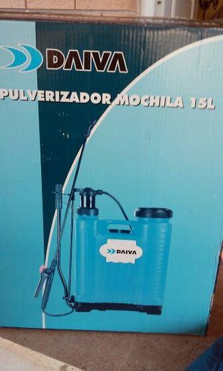 Pulverizado Mochila 15l