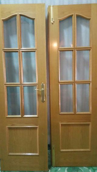 Puertas madera comedor