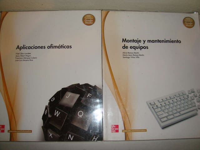 Libros Informática De Grado Medio Nuevos De Segunda Mano Por